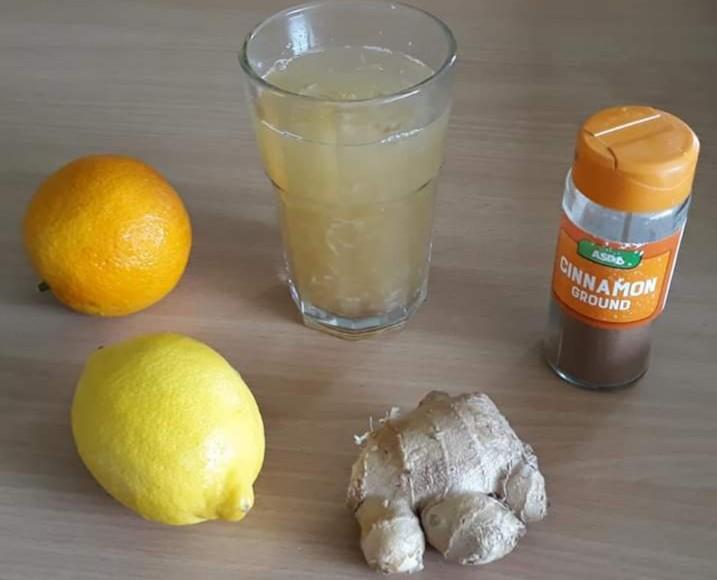 gyömbéres ital fogyáshoz fogyás kalória csökkentéssel