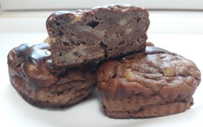 Csokis Fehérje Muffin