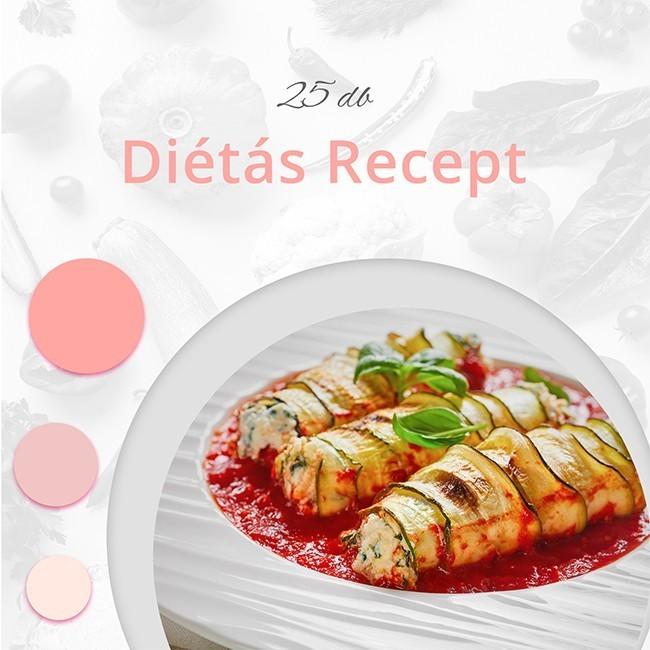 25 db diétás recept