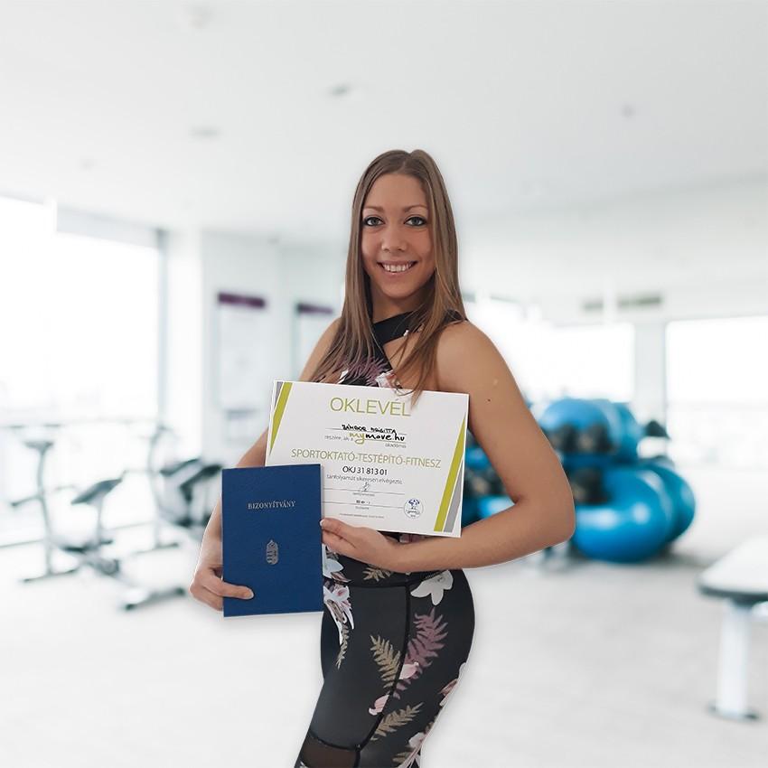 Jámbor Brigitta fitness edző