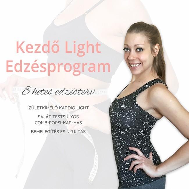 kezdő light edzésprogram