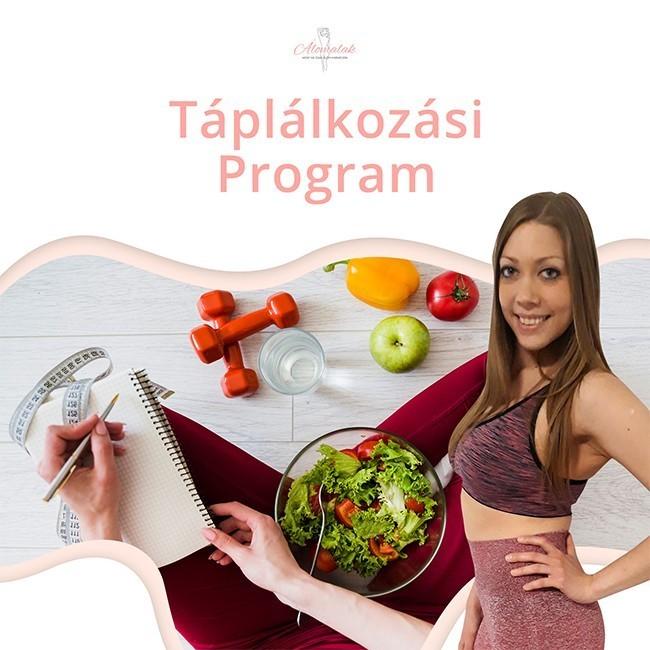 táplálkozási program életmódváltáshoz