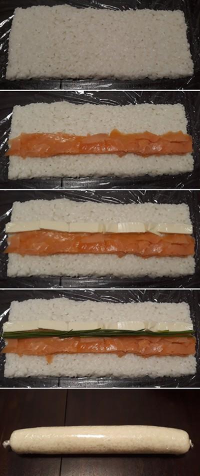 gyors és egyszerű házi sushi recept lépések
