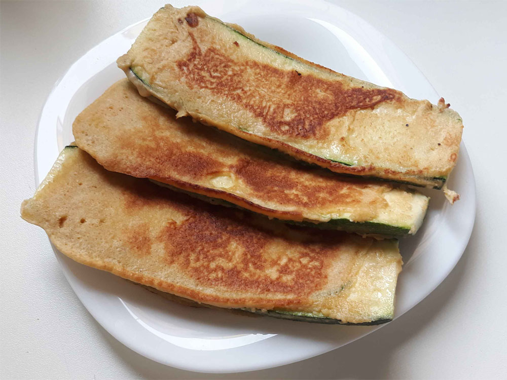 bundázott cukkini recept